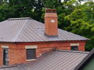 Chardon Ohio copper standing seam roof
